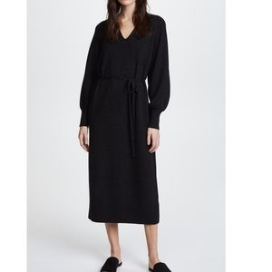 Vince long sweater dress